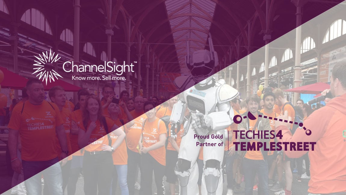 ChannelSight Excited To Be Gold Sponsors At Techies 4 Temple Street 2018