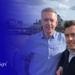 John Beckett, CEO and co-founder. Niall O'Gorman, CCO and co-founder.